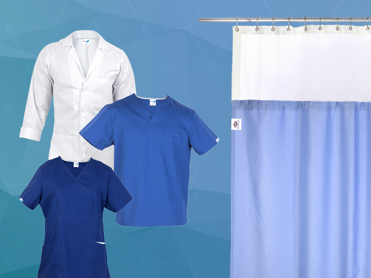 Prime Medical Turns Hospital Curtains, Lab Coats, and Scrubs into Germ-fighting Shields
